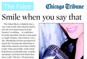 Chicago Tribune interview