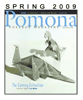 Pomona College Magazine, Spring 2009
