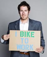 Eric Bikes to Work